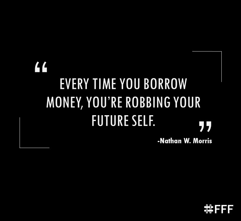 Youre Robbing Your Future Self Finance Fun On Friday